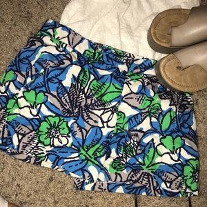 Zara Basic Floral Shorts